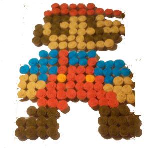 Cupcakes, Mario, 8-Bit