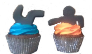 Portal, Themed, Cupcakes